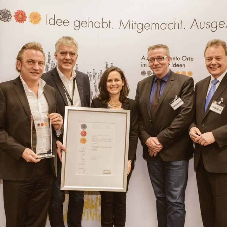 Auszeichnung Land der Ideen